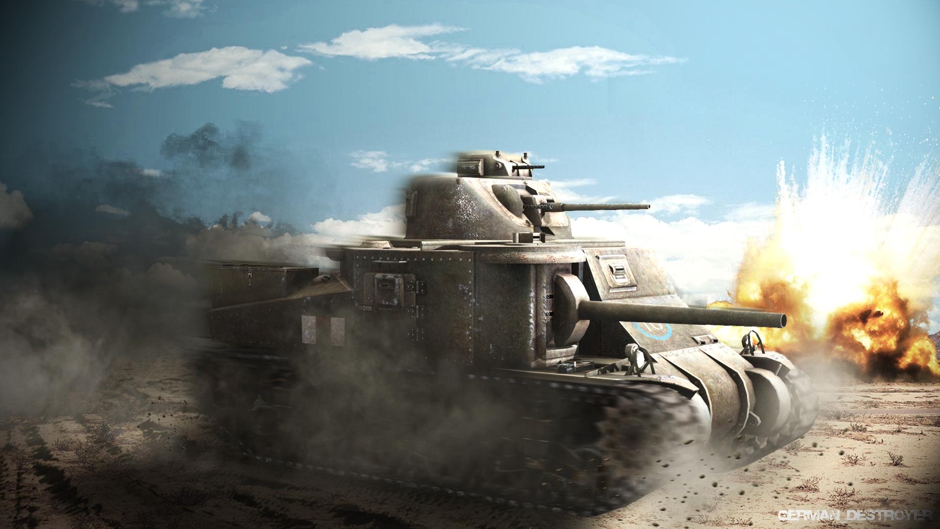 Обои для рабочего стола 1920х1080 мир танков