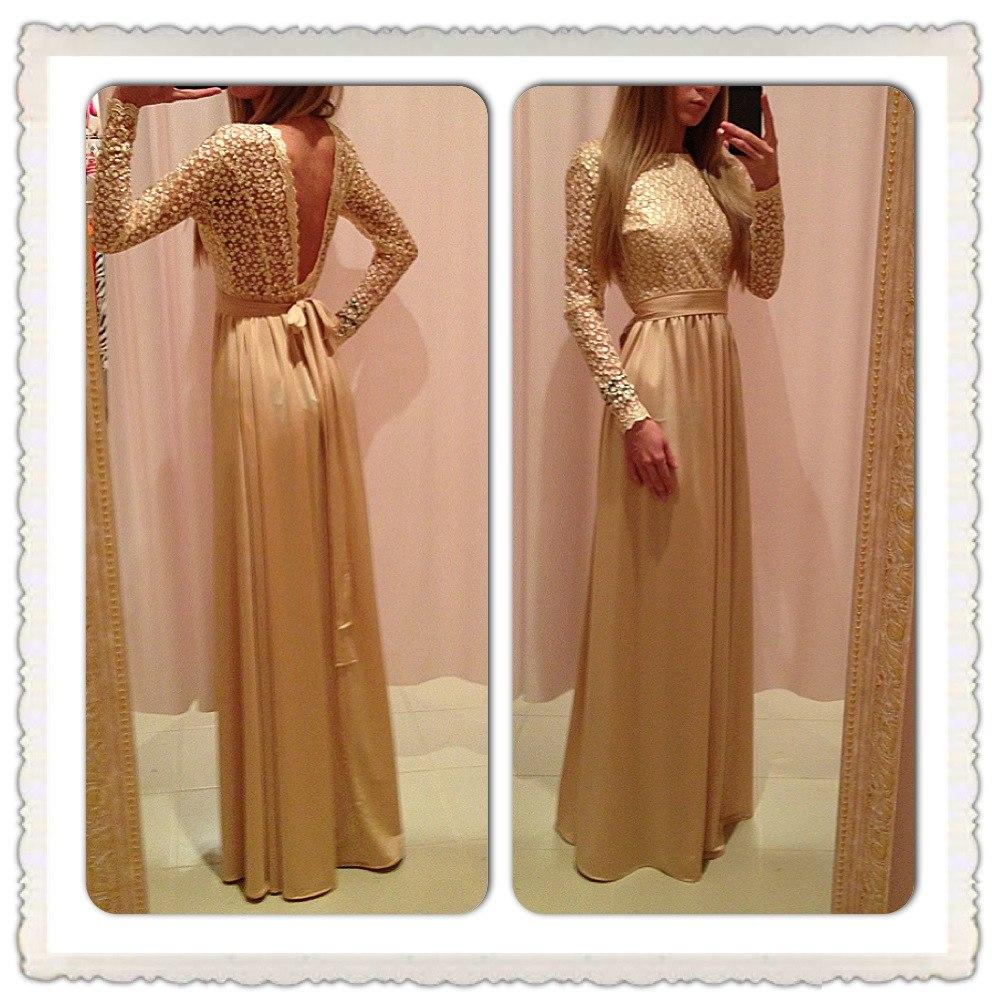 Платья золотой песок