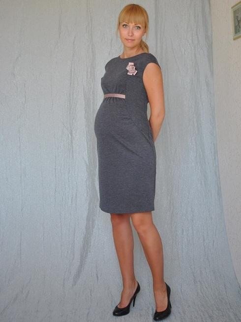 Красивые летние платья для беременных 1