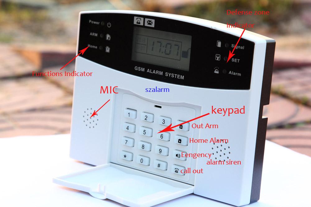 Система умный дом - gsm сигнализация