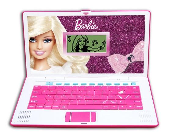 Ноутбук для куклы