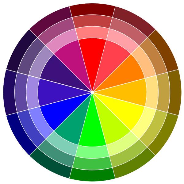 Как сделать в одной цветовой гамме