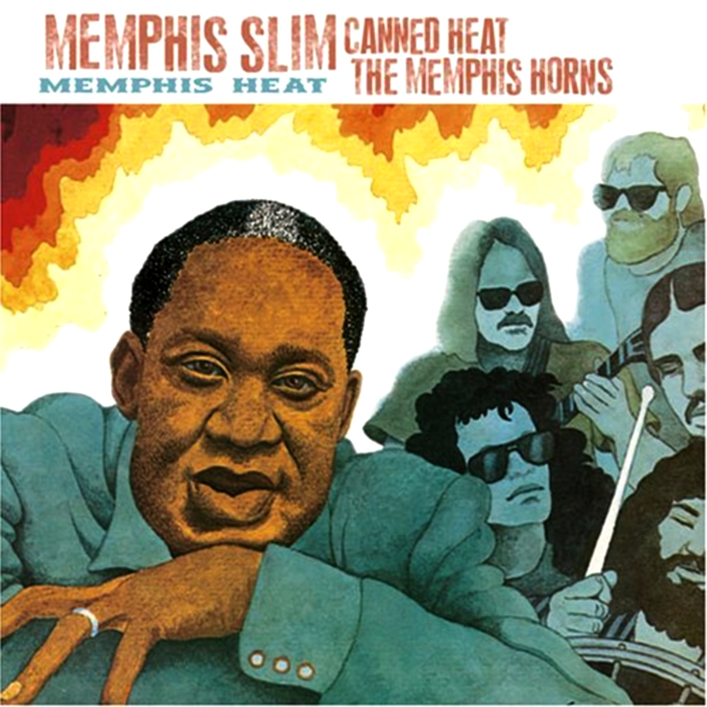 Canned Heat and Memphis Slim - Memphis Heat (1973)