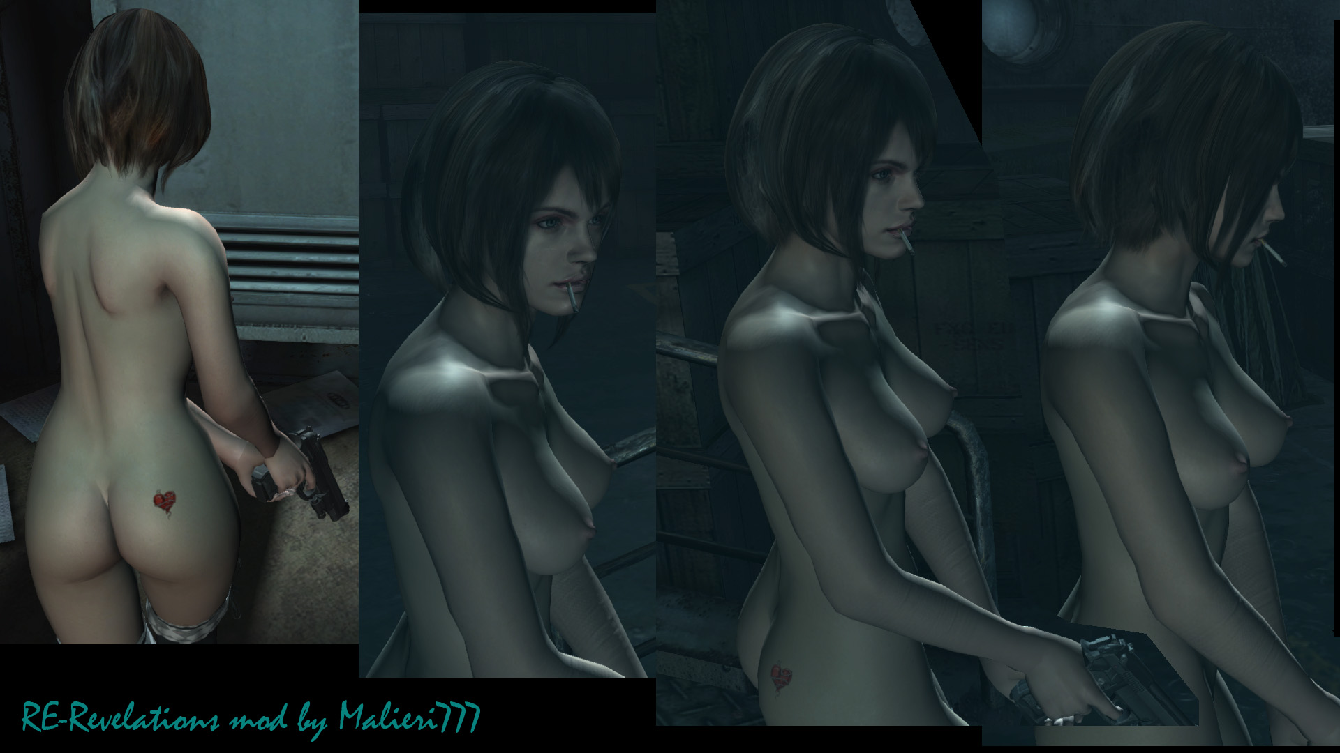 Resident evil all parts nude mod rar fucked images