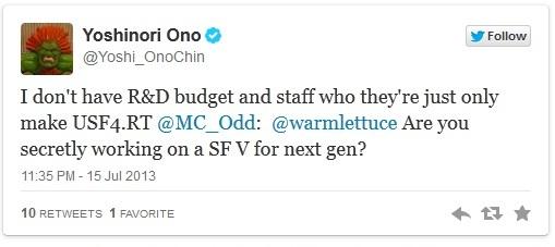 Йошинори Оно: У меня нет ни команды, ни бюджета для создания Street Fighter 5   файтинг Дополнение Xbox 360 arcade