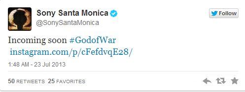 Sony Santa Monica тизерит что то новое для God Of War   DLC