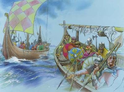 Вікінгі пакідаюць «абгароджаны двор»