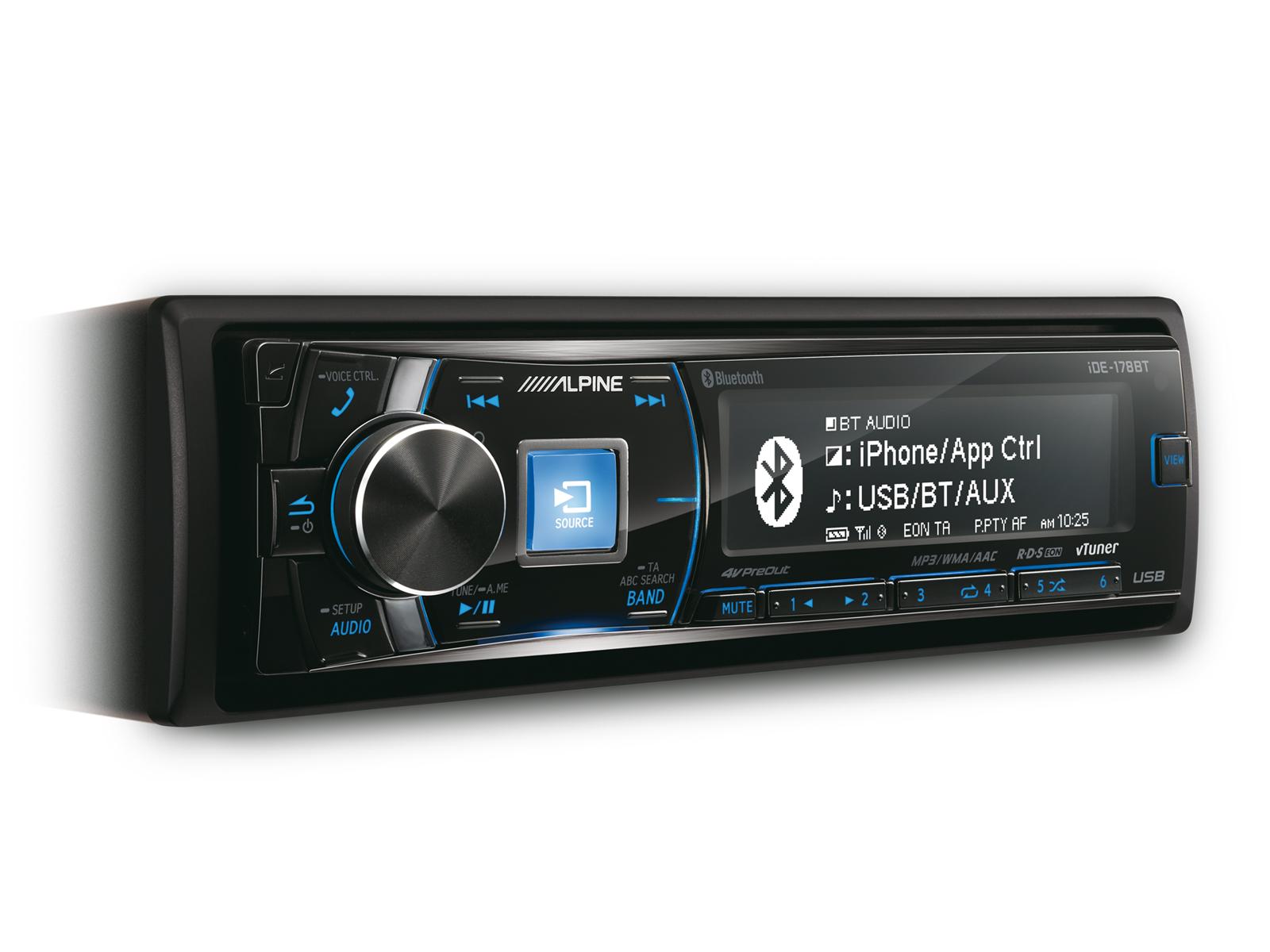 iDE-178BT - Цифровой медиа-ресивер с BLUETOOTH