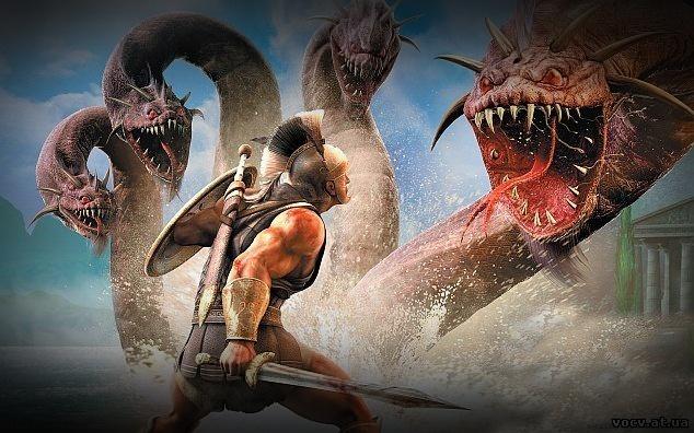 Геракл против Гидры