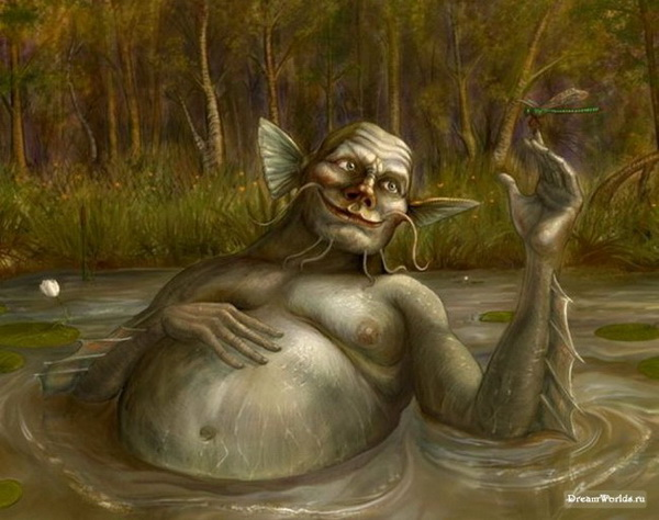 рыбалка на реке болотница