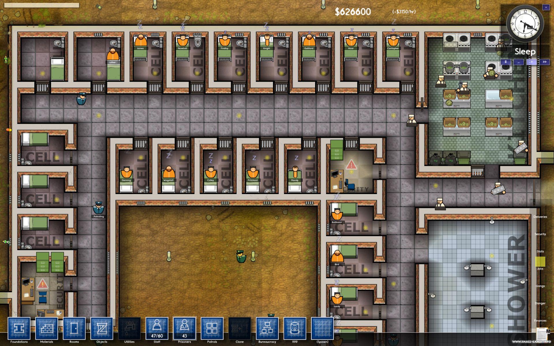 Prison architect как сделать карцер