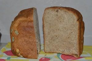 Хлеб пшеничный гречнево-овсяный с отрубями