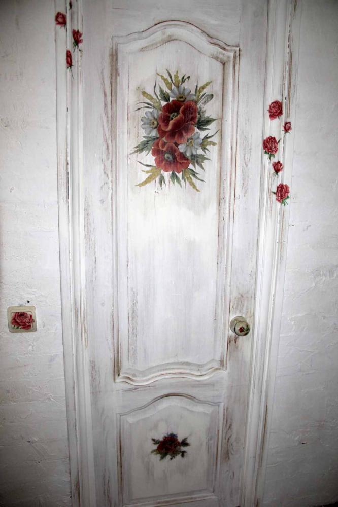 Декорирование старой двери своими руками фото 53
