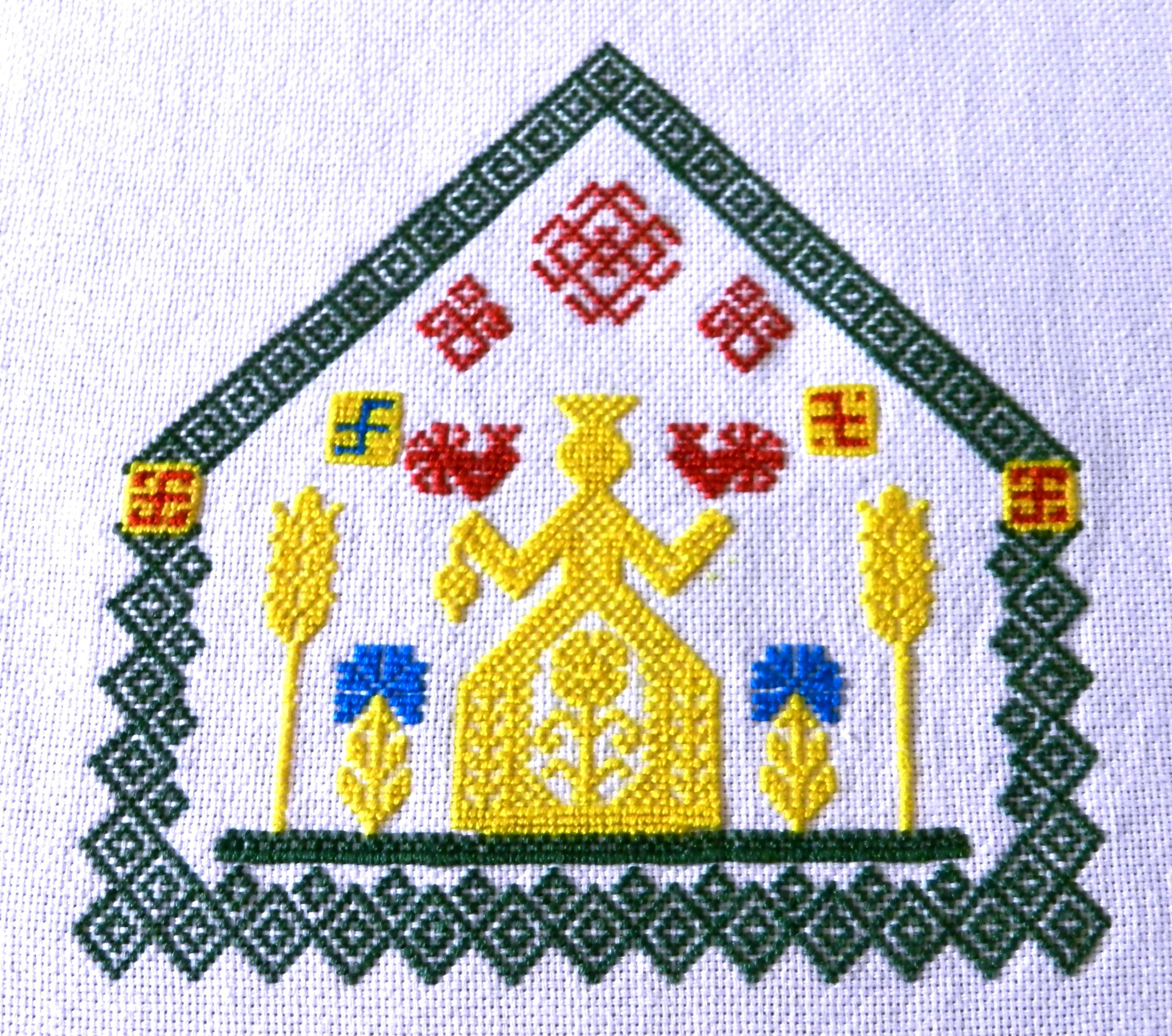 Символы и приметы в вышивке крестом - Мегавышивка 29