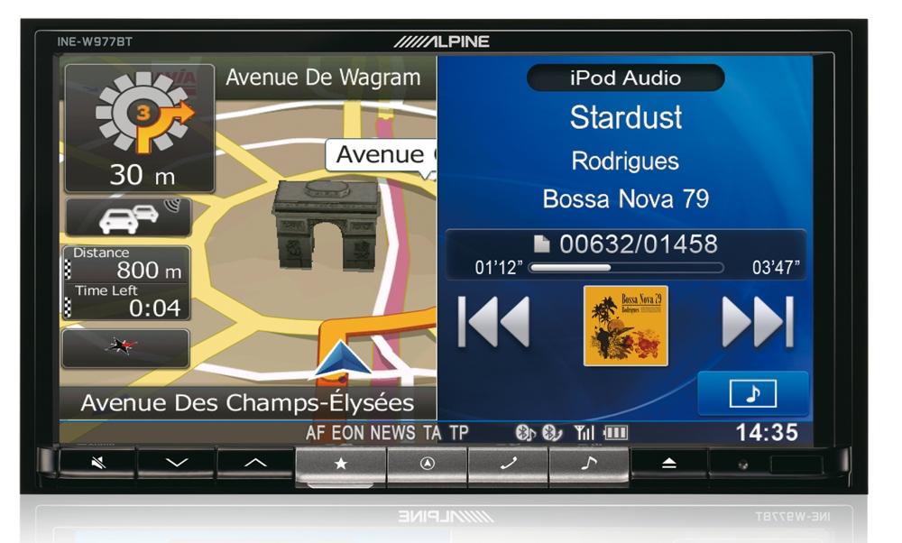 Mobile Media станция Alpine INE-W977BT