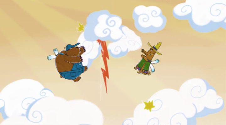 Летающие звери (1 сезон: 1-9 серии из 9) (2012) DVDRip