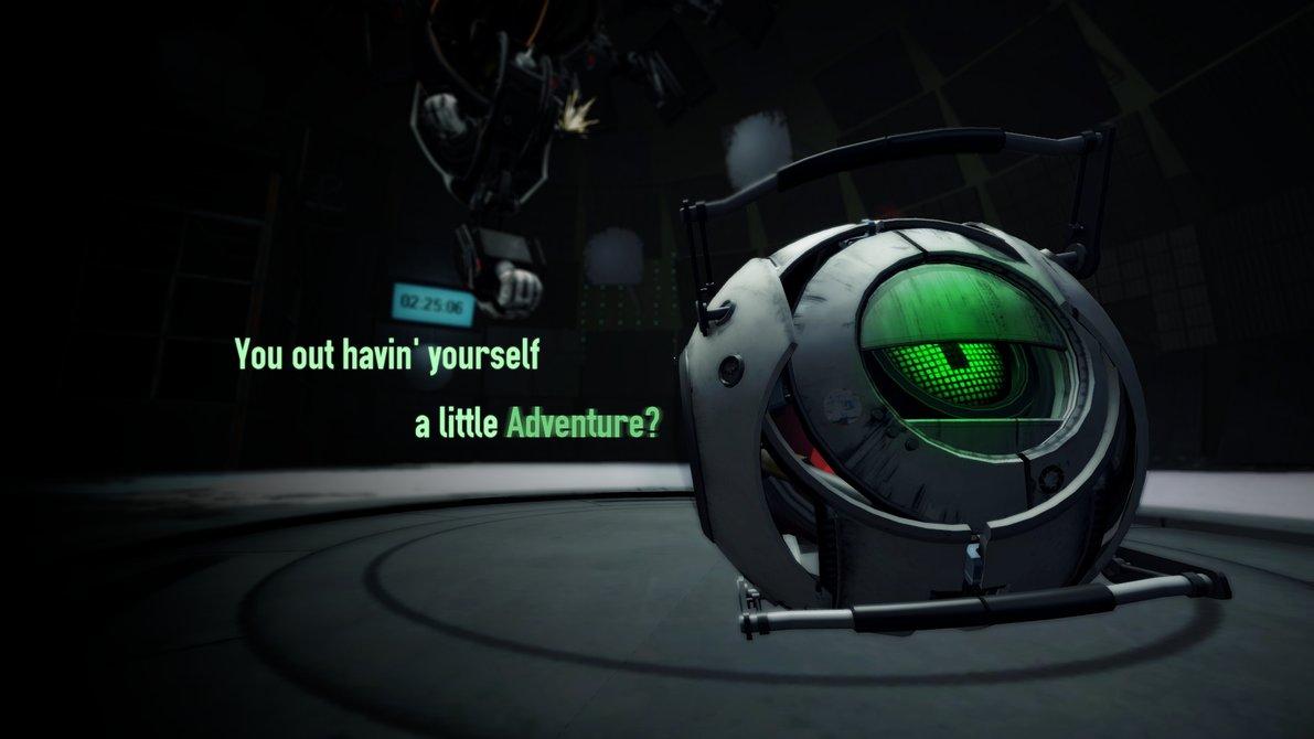 Красивый сет обоев Portal 2