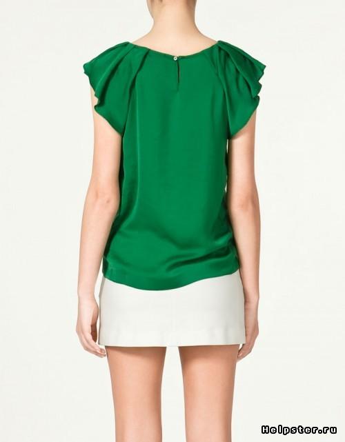 Зеленая Блузка Купить В Новосибирске