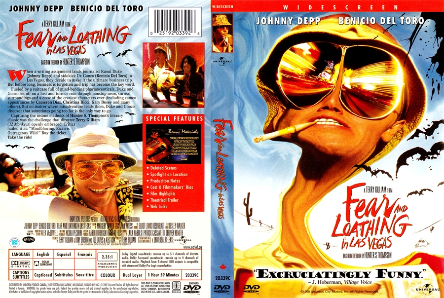 essay fear and loathing in las vegas Most readers know hunter s thompson for his 1971 book fear and loathing in las vegas: hunter s thompson's harrowing hunter s thompson essays.