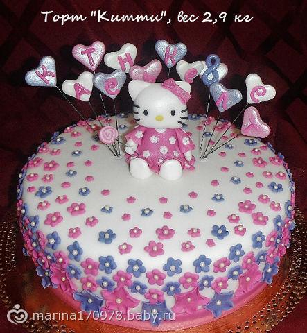 Детские торты из мастики для девочек фото