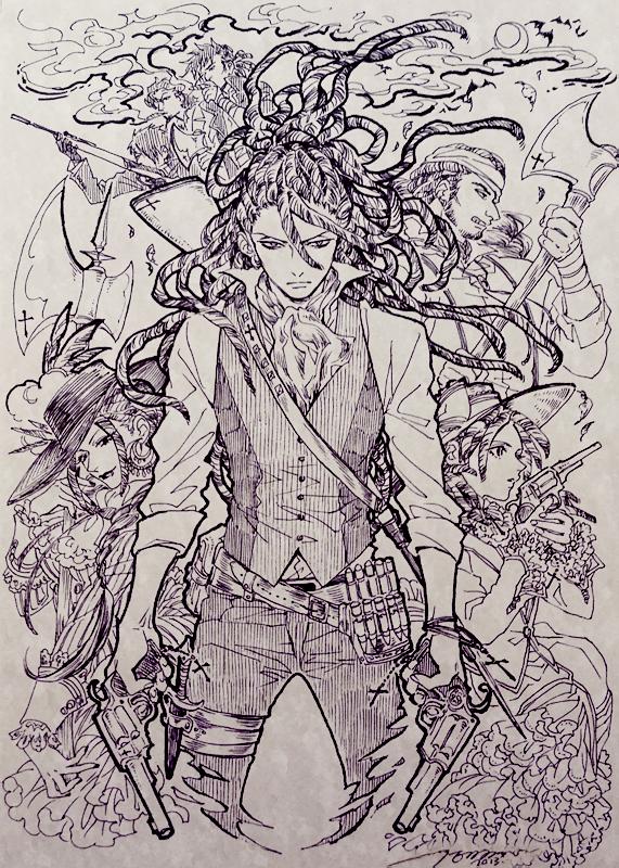 Татуировка охотника на вампиров рисунок